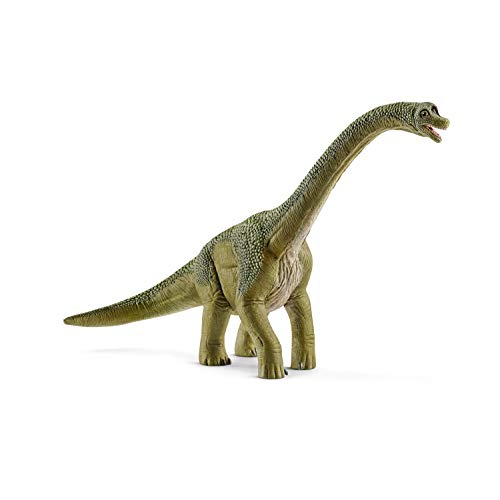 Schleich Figura Dinosaurio Brachiosaurus, Color Verde Claro