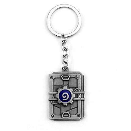AMITD Schlüsselbund Schlüsselring Hearthstone Heroes of Warcraft Schlüsselbundketten Fashion Legend Legendary Fire Fireside Keychain Ring League