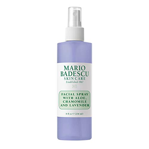 Mario Badescu Facial Spray with Aloe, Chamomile and Lavender, 8 Fl Oz