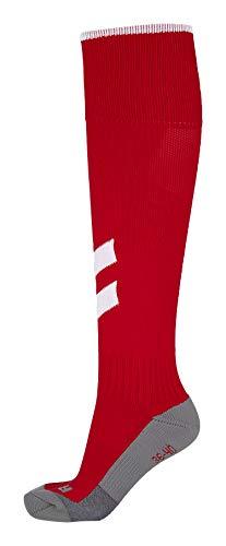Hummel Fundamental Football Sock, True Red/White, 10 (36-40)