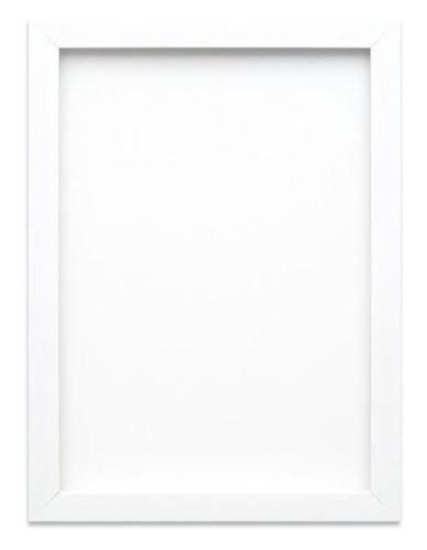 arc en ciel gamme cadre photo/cadre Affiche Avec feuille de perspex - moulure mesure 19 mm de largeur et 15 mm de profondeur - 38,1 x 30,5 cm - Couleur Blanc