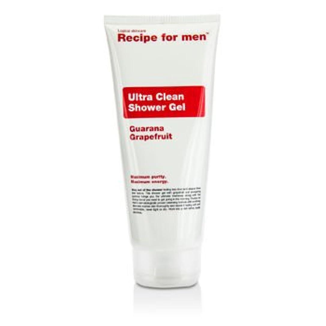 カートオークションすべて[Recipe For Men] Ultra Clean Shower Gel 200ml/6.7oz