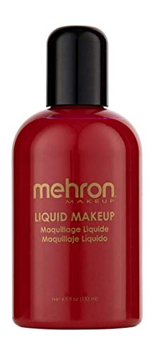 Mehron Liquid Face Paints - Red R (4.5 oz) by Mehron