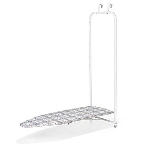 Polder Over-The-Door Hanging Ironing Board - Includes Cover and Pad