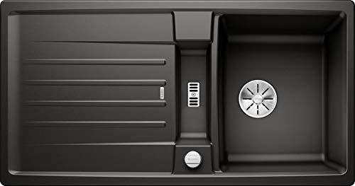 Blanco Lexa 5 S Silgranit PuraDur schwarz