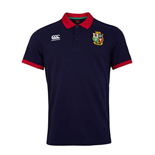 Canterbury Herren Poloshirt British and Irish Lions Home Nations L Peacoat