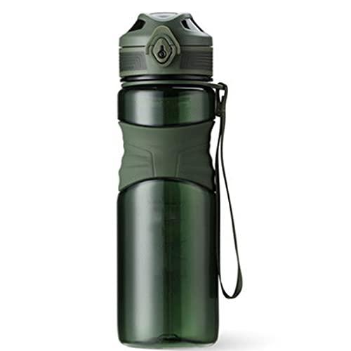 Botella de Agua, 600L Botella de Agua Deportes Copa Camping Gimnasio de Gran Capacidad Al Aire Libre, Sin BPA, Botellas de Agua a Prueba de Fugas para Gimnasio Botella de Agua Potable Portátil