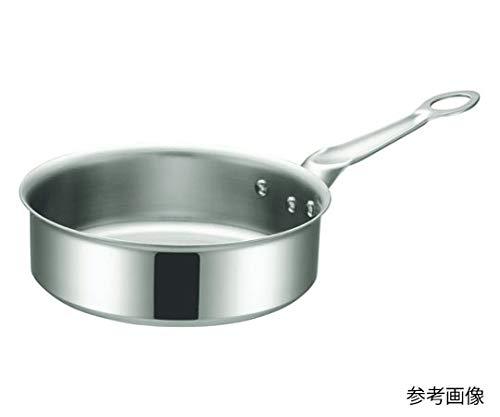 本間製作所 片手鍋 シルバー サイズ15cm IHマエストロ 3層鋼クラッド ソテーパン 15�p 本体 17515