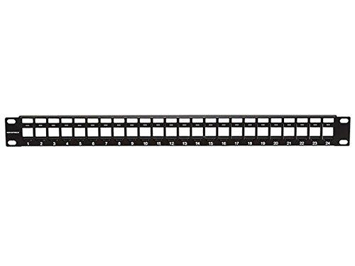 Monoprice Keystone Jack Panel, 24 ports