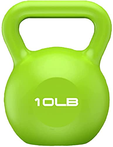 ZJDM Professional fitness kettle bells, non-slip handles, thin arms, hips, male and female household squat equipment, weight: 5 lb / 10 lb / 15 lb / 20 lb