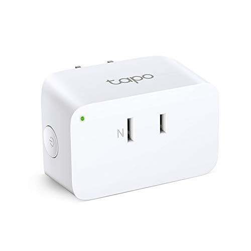 TP-Link WiFi スマートプラグ 遠隔操作 直差しコンセント Echo シリーズ/Google ホーム 対応 音声コントロール サーキュレーター ハブ不要 3年保証 Tapo P105/A