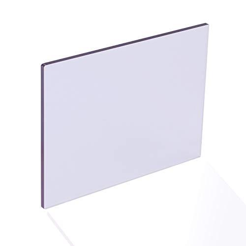 YJSMB 2,8mm Claro Paneles de Policarbonato, A Prueba De Roturas Hoja De Seguridad De Plástico para Cobertizo De Ventanas, Invernadero Grado UV (Size : 600mm x 800mm)