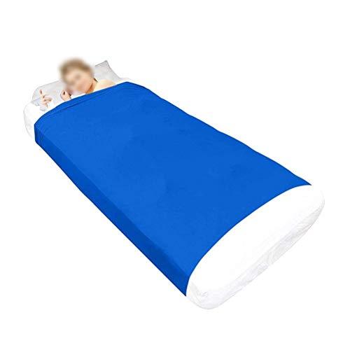 CHICTI Sensorischen Bettlaken Für Kinder Beste Alternative Zu Gewichteten Decken Atmungsaktiv Dehnbar Tiefer Druck Zum Entspannen Und Bequemen Schlafen (Size : 160x147cm/63x58in)
