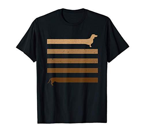 Divertido regalo largo perro salchicha larga Camiseta