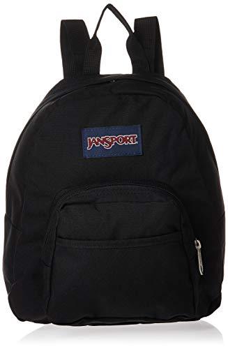 JanSport Half Pint Mini Backpack - Ideal Travel Day Bag, Black
