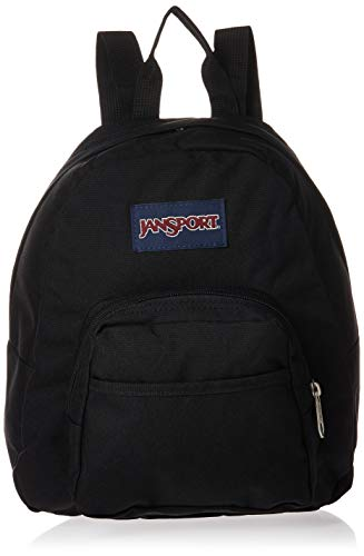 JanSport Half Pint Mini Backpack - Ideal Travel Day Bag, Black