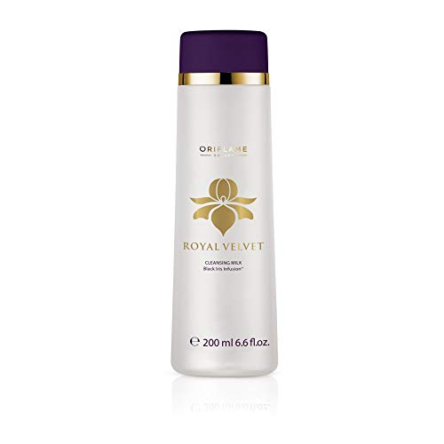 Royal Velvet Creamy Cleansing Milk, 200 ml/ +40 years . Imported from Europe/ Not available in USA by Oriflame