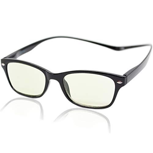 (エイトトウキョウ)eight tokyo 老眼鏡 ブルーライトカット 首掛け おしゃれ メンズ レディース 兼用 かわいい 2.0 UVカット シニアグラス リーディンググラス[ 鯖江メーカー企画 ]ブラック/ライトグリーン IRUV-NECK-BK+2