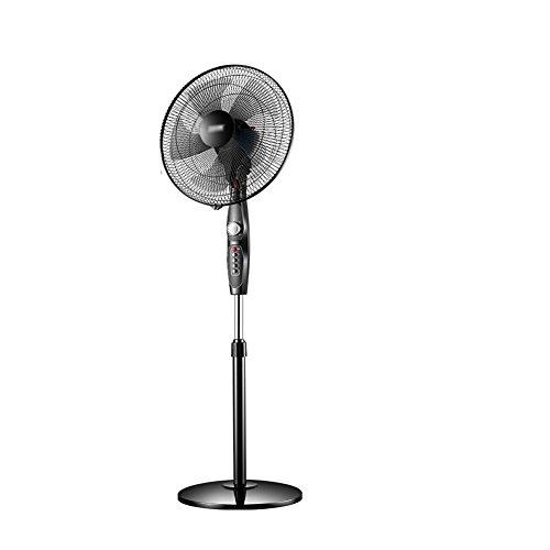 Fan Ventilador Eléctrico Ventilador de Piso Hogar Escritorio Ventilador de Mesa Industrial Vertical Mecánico Cabeza vibratoria Ventilador de Ahorro de Energía, 4 Archivos Ajustables.