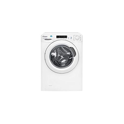 Candy CS4 1272d3/2-S libre installation chargement frontal 7 kg 1200 trs/min Blanc