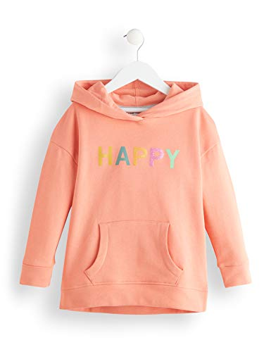 Amazon-Marke: RED WAGON Mädchen Kapuzenpullover Rwg-046, Pink (Multicolour), 110, Label:5 Years