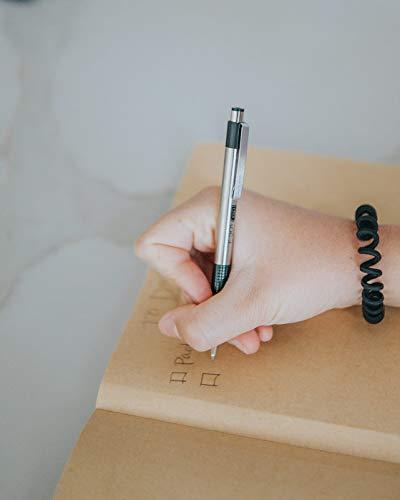 Zebra Pen F-301 Ballpoint Stainless Steel Retractable Pen, Fine Point, 0.7mm, Black Ink, 12-Count (27110) Photo #3