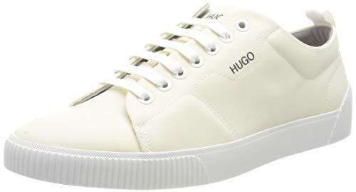 HUGO Herren Zero_Tenn_nypu Sneaker, White100,42 EU