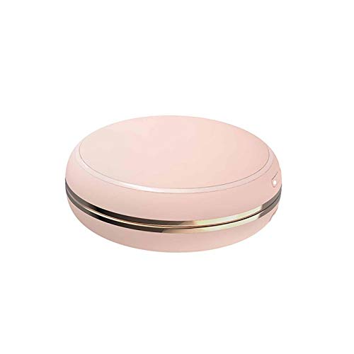 IPRE Rechargeable Hand Warmer, 10000mah Portable Hand Warmers Reusable USB Heater Double-Sided Heating Electric Hand Warmers with Makeup Mirror Pink