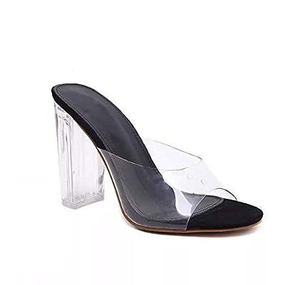 Style Mermaid Women New Transparent Heels