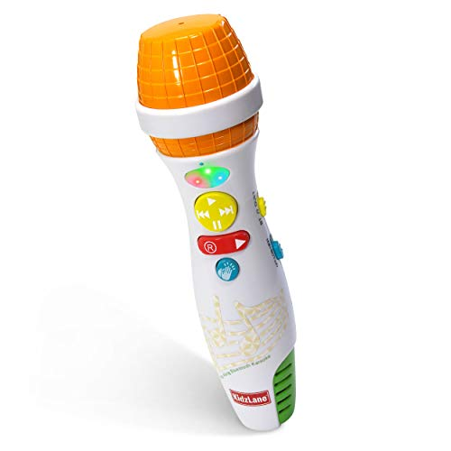 Kidzlane Karaoke Microphone for Kids with Bluetooth, Kids Singing Toy...