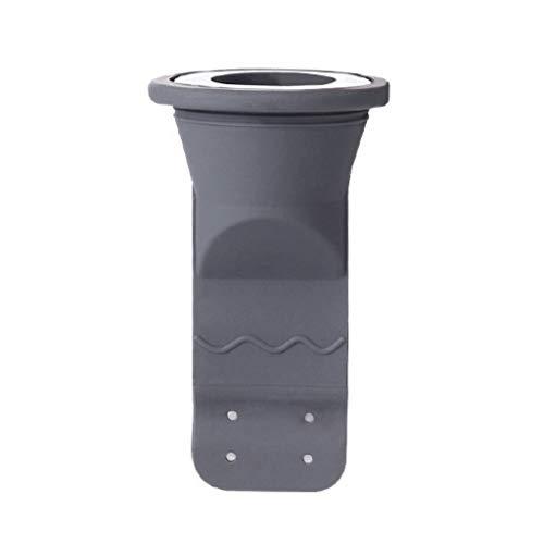 FUNCOCO Drenaje de Piso, tapón de Sellado de Silicona Fregadero doméstico Drenaje de Piso Filtro de Desodorante Alcantarillado Fregadero de Drenaje Colador-Gris Oscuro