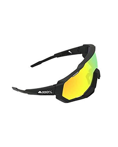 TECHVIDA Gafas de Montar polarizadas, Gafas de Sol Deportivas polarizadas gafasProtección UV400 Gafas de Ciclismo con 3 Lentes Intercambiables para Ciclismo, béisbol, Pesca,...