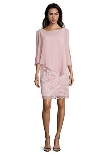 Vera Mont Damen 0095/4805 Kleid, Rosa (Foggy Rose 4481), (Herstellergröße: 44)