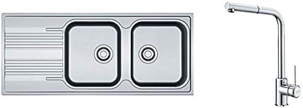FRANKE 115.0521.439 Atlas Neo Pull-Out Window Robinet de cuisine INOX