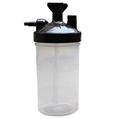 Noblik Water Botella Humidificador para Concentrador De Oxígeno Humidificador Concentrador De Oxígeno Botella Humidificador Botellas Generador De Oxígeno Accesorios