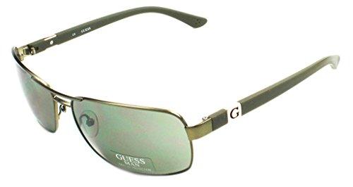 Gafas de Sol Hombre Guess GU 6733 GRN-2 Verde Cerrado