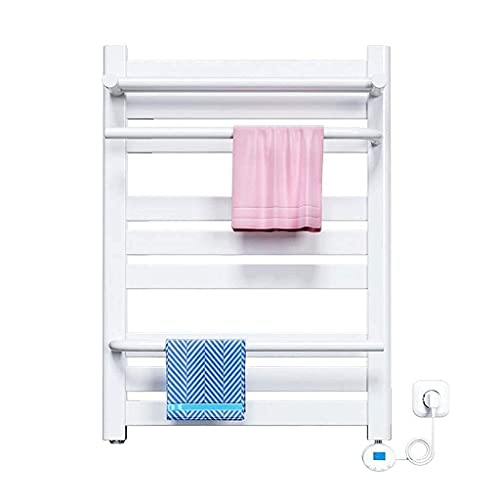 Toallero eléctrico de Pared, estantería para toallero, Acero con bajo Contenido de...