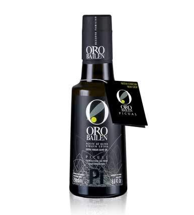 Aceite de Oliva Extra Virgen - Categoria Superior - ORO BAILEN - Cosecha 2020/2021 - 250 ml - Picual