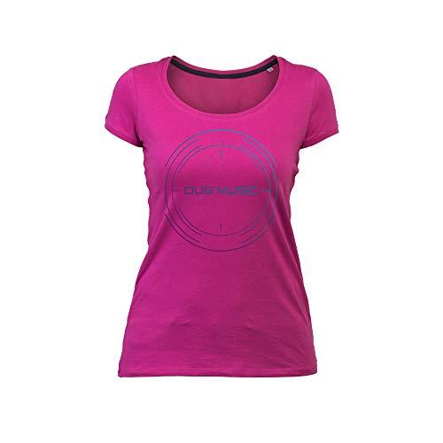 Wild Soul Tees Vrouwen T-shirt Drum en Bass Muziek Genre | Muziekserie | Grafisch Ontwerp | Logo | Kleding | Kledingslijn