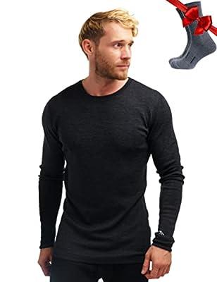 Merino Tech Merino Wool Base Layer Long Sleeve Shirt