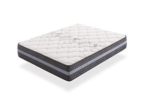 IKON | Grand Luxury Unique | Colchón 80x190 cm Viscoelástico | Reversible Invierno/Verano | Altura 30cm