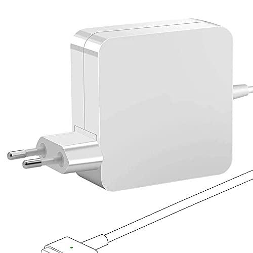 Rocketek Mac Book Air Cargador Adaptador T Cargador de 45 W Reemplazo Adaptador de Corriente Mac Book Air de 11 y 13, Compatible con la versión de Mac Book Air 2012-2018