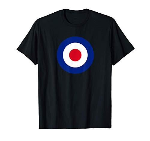 RAF - medallones de la Real Fuerza Aérea D 1947 Camiseta