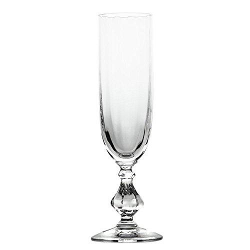 Cristal de Sèvres Choiseul Set de Verres de Champagne, Verre, 5 x 5 x 18.5 cm, Lot de 2