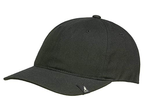 Kangol Casquette Baseball Cotton Adjustable Baseball Unisex - Noir