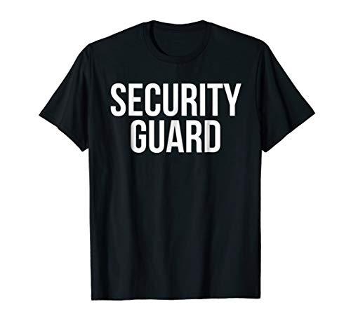 Security Guard Shirt Funny Halloween Costume Tshirt Parents