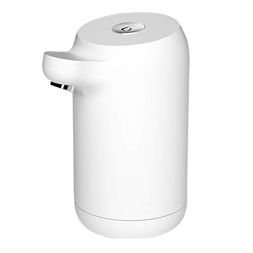 RUSTOO Bomba de agua inteligente, interruptor de botella de agua portátil, dispositivo de bombeo automático de agua embotellada, carga USB, para barriles de galones con un cuello de 5,5 cm