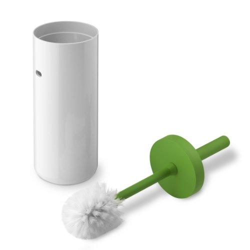 Lunar - Brosse WC vert/blanc