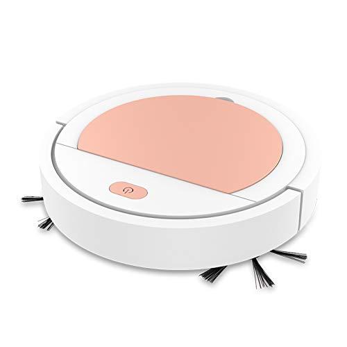 Clenp Balayeuse Intelligente, Aspirateur De Nettoyage De Sol Muet Automatique 3 en 1 2000Pa Robot Smart Sweeper White Golden One Size