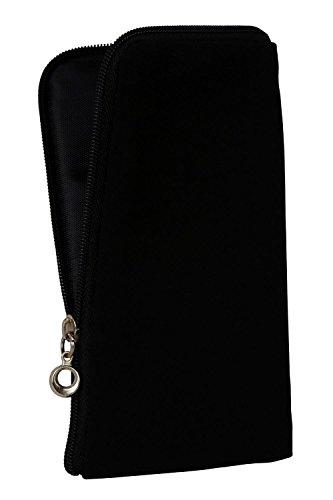 gütersloher Boutique Keeper Fermeture Éclair Housse Soft Case Noir Convient pour Gigaset – gs270 Plus – Housse Etui SLIM Case Cover Étui Sac